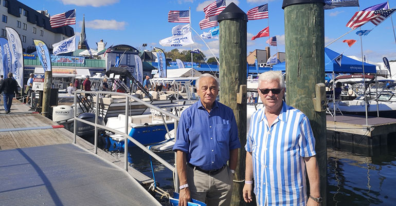 Annapolis Boat Show 2019 - We were guests !