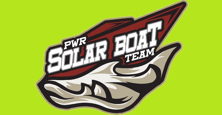 E-TECH is the sponsor of PWR Solar Boat Team