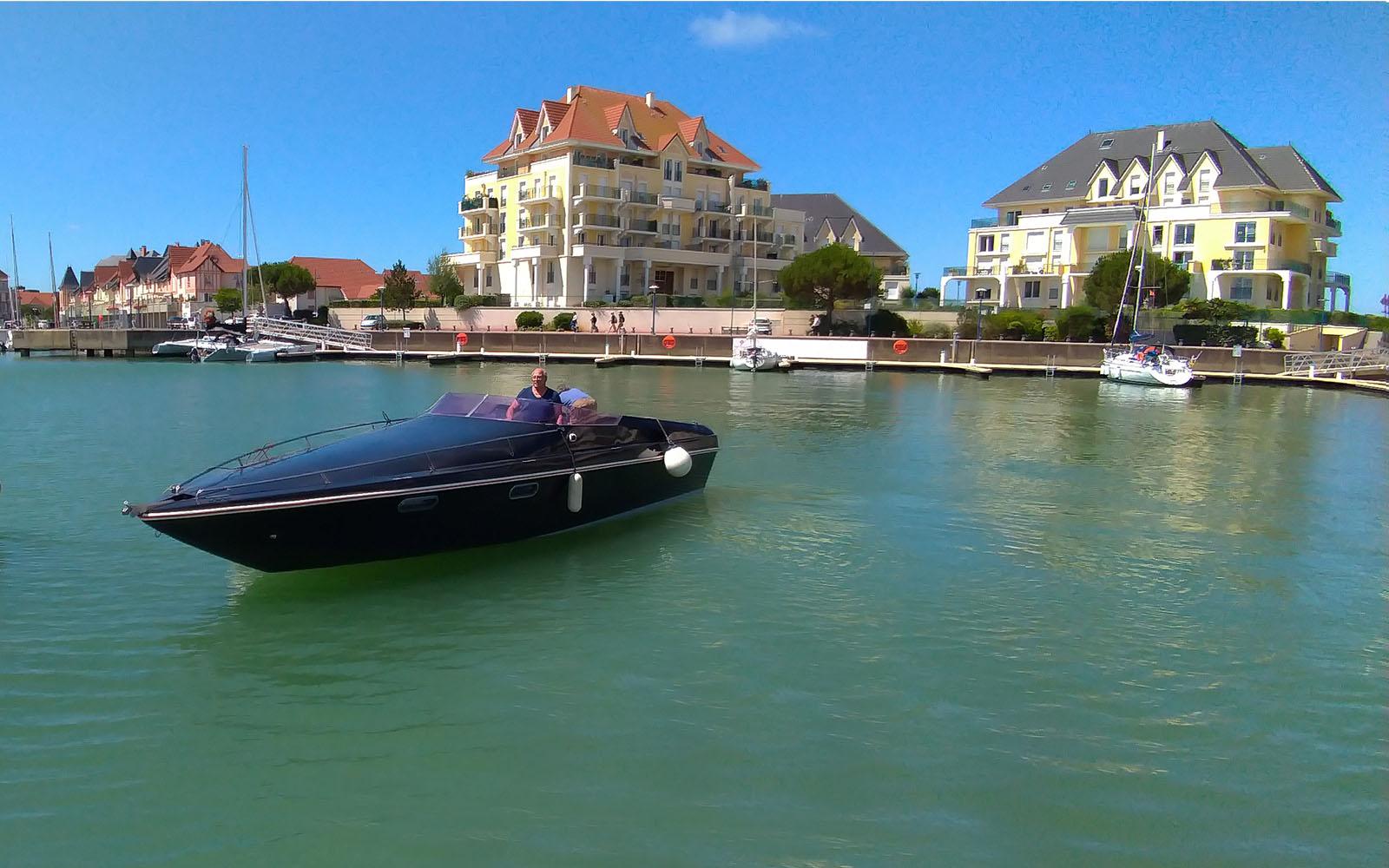 Black Swan boat - Seine